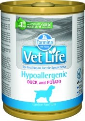 Vet Life Dog 2802 Natural Diet 300g Hypoaler Duck