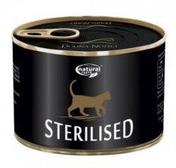 Natural Taste Cat 0554 Sterilised puszka 185g