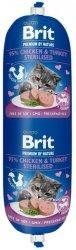 Brit Sausage Cat Chicken & Turkey 180g Sterilise