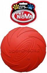Pet Nova 3004 Dysk gumowy 15cm czerwony