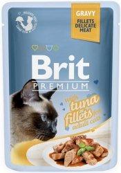 Brit 8548 Premium Cat 85g Tuńczyk sos saszetka