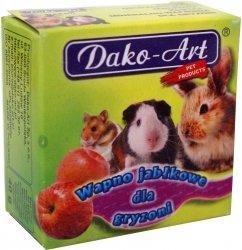 Dako-Art 626 Wapno jabłkowe dla gryznoni 1szt
