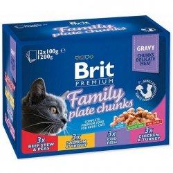 Brit Premium 12x100g family Plate saszetki