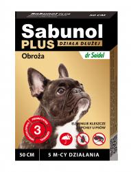 Sabunol 1513 Obroża Plus dla psa 50cm