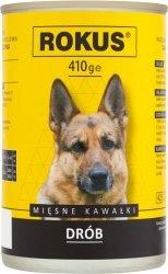 Rokus Dog 410g Drób