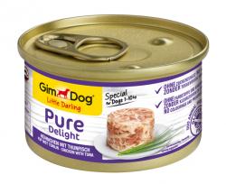 GimDog 513027 Pure Deli Kurczak & Tuńczyk 85g