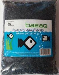 BazaQ 7324 Żwir Grys Bazaltowy 2kg czarny 5-10mm