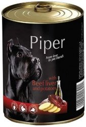 Piper 3921 puszka 800g wątroba wołowina ziemia