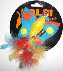 Balbi 870 Zabawka z filcu Motylek na gumce
