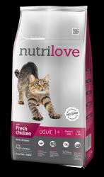 Nutrilove Cat 11462 Adult 8kg kurczak