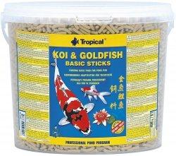 Trop. Pond 40376 Koi&Goldfish Basic stick 5l wiadr