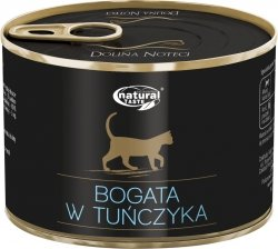 Natural Taste Cat 1554 Bogate w tuńczyka 185g