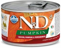 ND Dog 2314 Adult Mini 140g Pumpkin Chicken&Pom