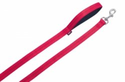 Nobby 78514-01 Smycz Soft Grip 120cm 15mm czerwona