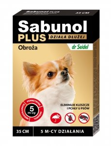 Sabunol 1537 Obroża Plus dla psa 35cm