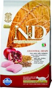ND Cat LG 2751 Adult 5kg Neutered Chicken&Pome