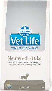 Vet Life Dog 2462 2kg Neutered +10