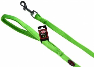 Pet Nova 1512 Smycz nylon z podszyciem zielona S