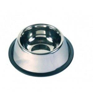 LupiPets Miska 0,9L metalowa spaniela na gumie