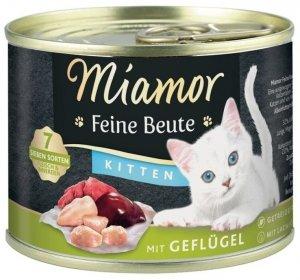 Miamor 74450 Beute Kitten Drób 185g dla kota