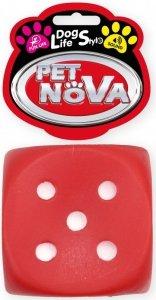 Pet Nova 1625 Kostka do rzucania 6cm czerwona