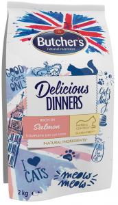 Butchers 6007 Delicious Dinners Łosoś d/kota 2kg