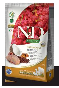 ND Dog NG 5561 Adult Quinoa 800g Skin&Coat Quail