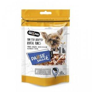 Pausesnack 2435 przys. mini pies krążki dental 60g