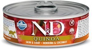 ND Cat 2154 Adult 80g Quinoa Skin&Coat Herring