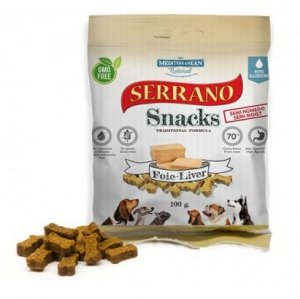 Serrano Snack 1781 Dog 100g wątróbka foie
