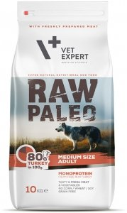 Raw Paleo Vet 1859 Adult Medium Turkey 10kg