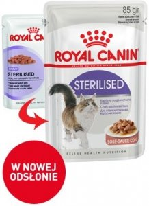 Royal 237400 Sterilised w sosie 85g