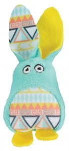 Zolux 580730VER Zabawka dla kota Kali królik zielo