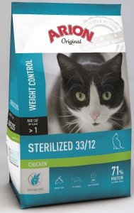 Arion 8643 Cat Original Sterilized Chicken 2kg