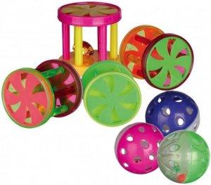 Trixie 4099 Rolki/Piłki z dzwonkiem 1szt