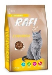 Rafi Cat 0710 Sucha 1,4kg z drobiem
