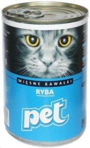 Pet Cat 820g Ryba