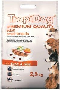 Tropidog 57025 Premium Adult S Duck&Rice 2,5kg