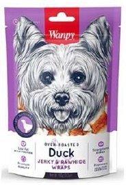 Wanpy 0352 Suszona skóra owinięta kaczką 100g psa