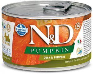 ND Dog 2321 Adult Mini 140g Pumpkin Duck
