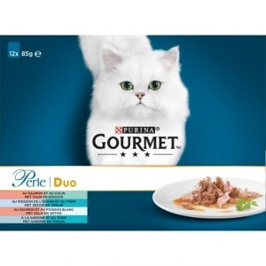 Gourmet Perle 12x85g Duet Rybny