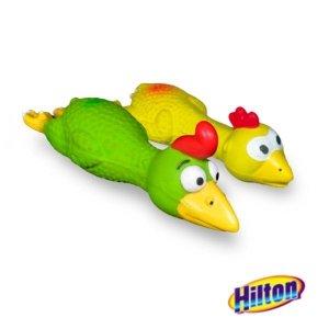 Hilton 0151 zabawka Kurczak w locie latex 16cm
