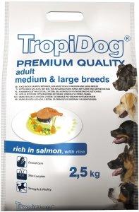 Tropidog 57125 Premium Adult S Salmon&Rice 2,5kg