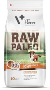 Raw Paleo Vet 1842 Puppy Medium Turkey 10kg