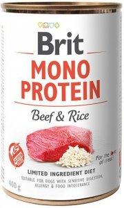 Brit Care Mono Protein Beef & Rice 400g