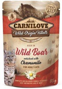 Carnilove Cat 8386 Pouch Wild Boar & Chamomile 85g