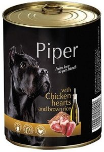 Piper 4027 puszka 400g serca kurczaka i ryż
