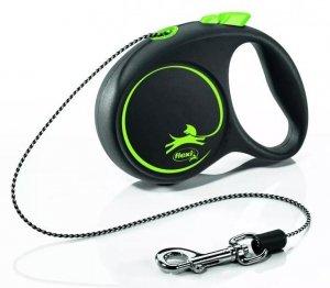 Flexi 3322 Black Design XS Cord 3m zielona