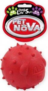 Pet Nova 2141 Piłka na przysmaki 6,5cm,czerwona