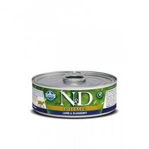 ND Cat 2062 Prime Adult 80g Lamb & Blueberry